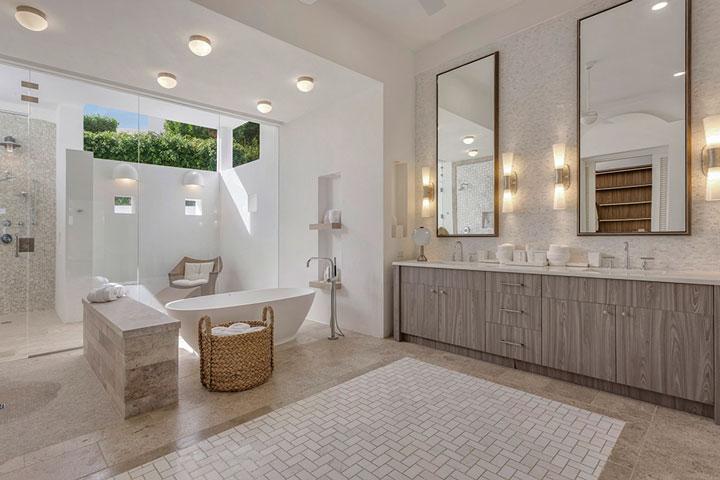Bathroom modern cabinets
