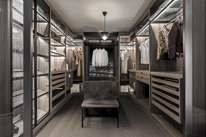Closet modern cabinets