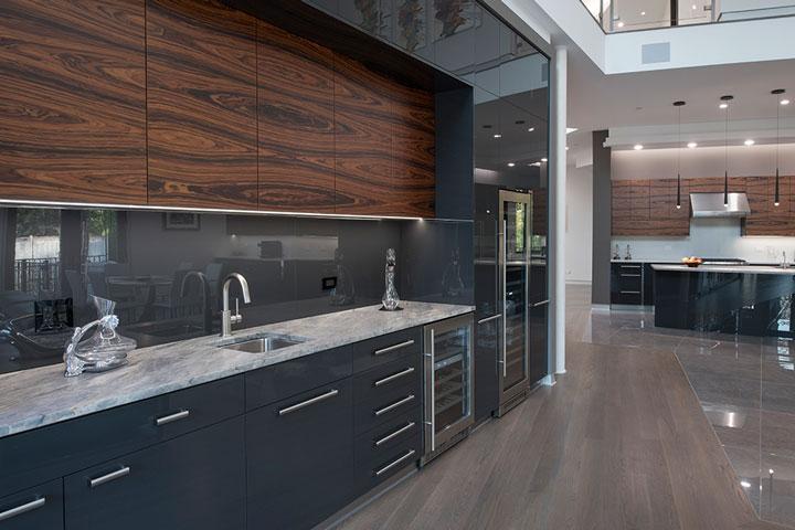 Interior modern cabinets