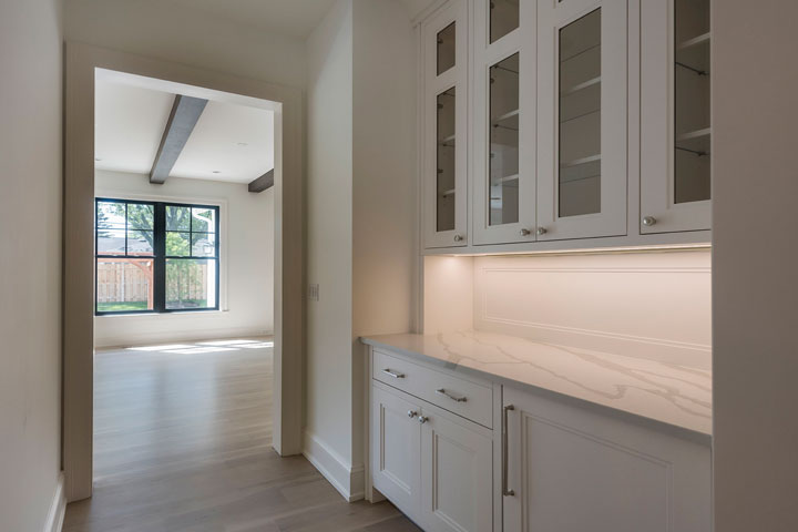 Living-Space Modern Custom Cabinets